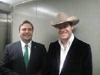 Ken with George Canyon - Click on Image to enlarge